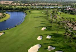 Golf Club und Community in Bonita Springs, Florida